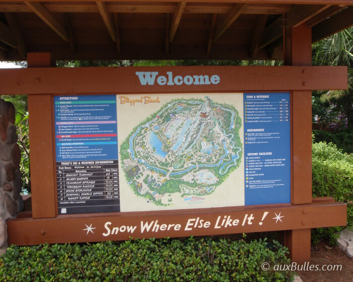 Floride Le Parc Aquatique De Blizzard Beach