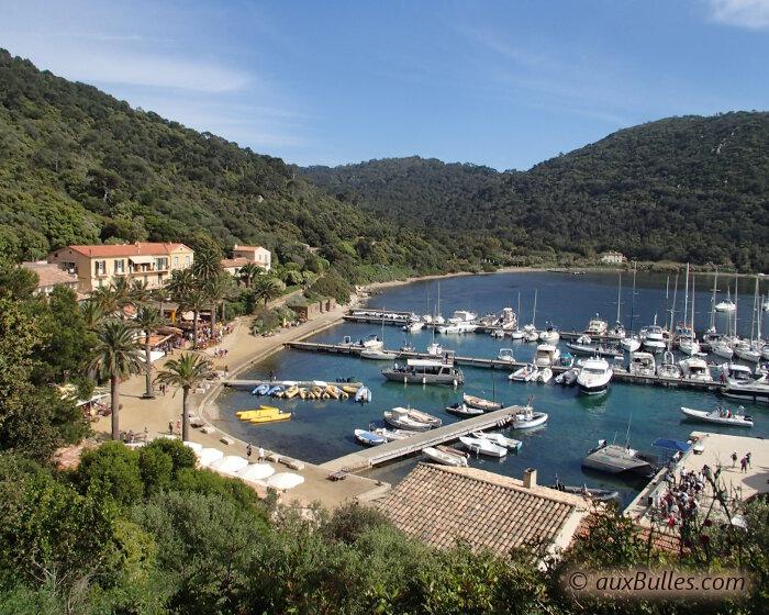 Mer m diterran e l 39 ile de port cros - Restaurant l huitre y est port des barques ...