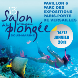 Le Salon International de la Plongée Sous-Marine 2011