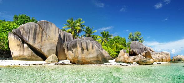 Les Seychelles avec l'ile de la Digue