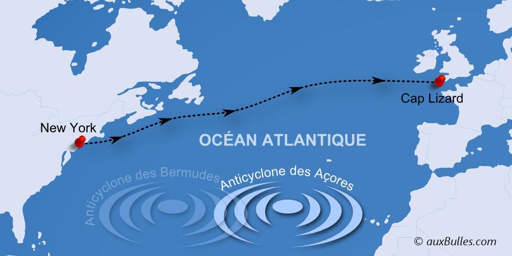 Voile, le record de la traversée de l'Atlantique Nord